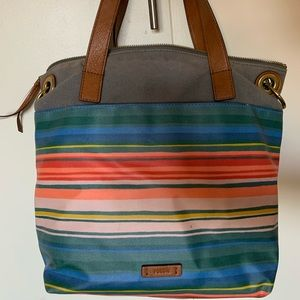Multi-color Fossil handbag